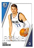 #9: 2018-19 Panini NBA Stickers Collection #217 Luka Doncic RC Rookie Card Dallas Mavericks Official Basketball Sticker (2 in x 2.75 in)