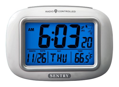 Sentry ATC30 Radio Controlled Atomic Weather Alarm Clock