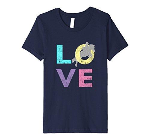 Kids Top Best Girls Fun LOVE Horse Lovers Gift T-Shirt 12 (Love Horses Shirt)