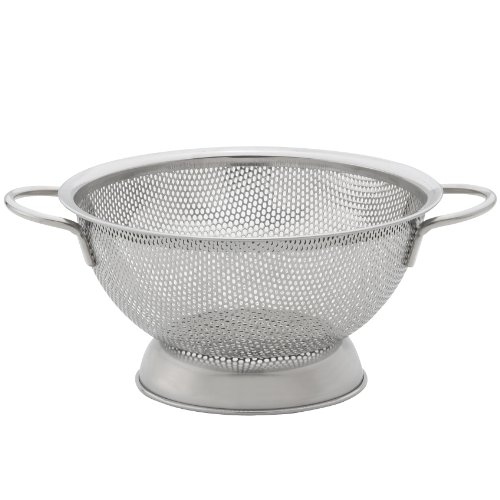HIC Brands that Cook Essentials Stainless Steel Perforated Colander, 7-1/2-Inch