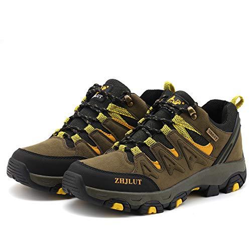 BOTEMAN Chaussures de Randonnée pour Femme et Homme Bottes de Trekking en Plein Air Imperméable Respirant Antidérapant… 2