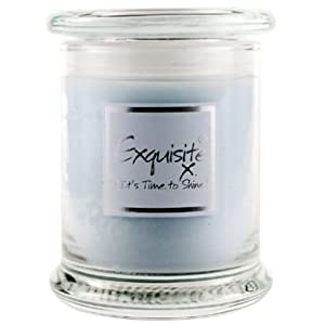 Lily Flame Scented Candle in Decorative Jar - Exquisite