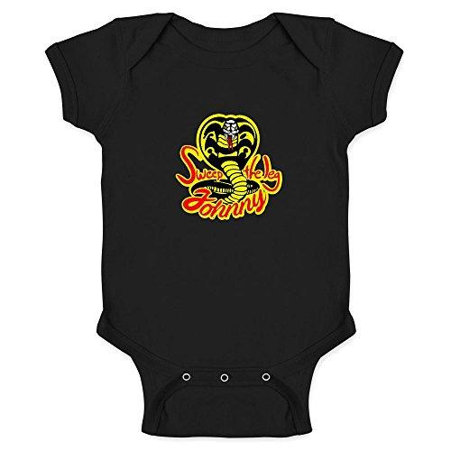 Sweep The Leg Johnny Cobra KaiKarate Kid 80s Infant Bodysuit
