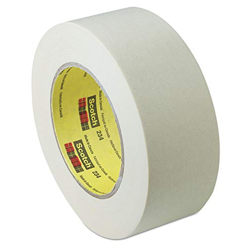 Scotch General-Purpose Masking Tape, 2 Inches x 60 Yards, 3-Inch Core, Natural (234-2)