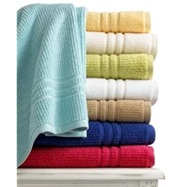 Martha Stewart Collection Quick Dry 27  X 52  Bath Towel Turquoise
