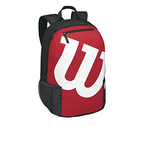 Wilson Match II Backpack, Black/Red