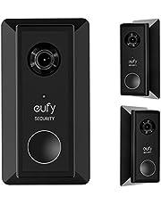 Instelbare hoekhouder voor Eufy video-deurbel - 35° links & 35° juiste hoek deurbel adapter, gezichtsveld uitbreiden compatibel (voor Eufy 2K video-deurbel (op batterijen))