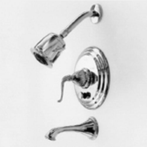 Chrome Bali Polished Faucet - Newport Brass 3-1092BP Alexandria Single Handle Pressure Balanced Shower Trim On, Polished Chrome