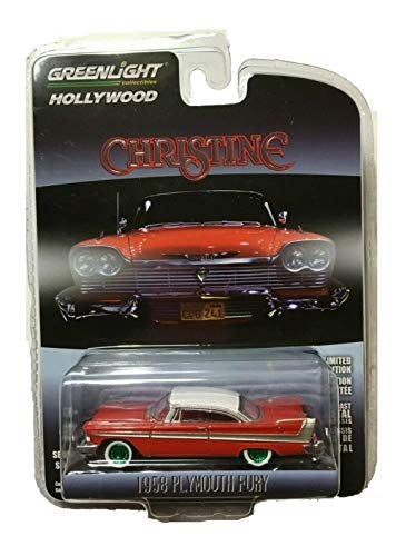 - Greenlight Chase Green Machine 44830-C Christine 1958 Plymouth Fury 1:64 Scale