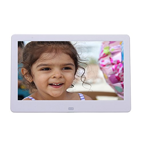 Digital Photo Frame 12.1 Inch Ultra Modern 8GB Built in memory HD Video 1080 dp, Remote Control, with Calendar and Clock - Photo Diy Booth Setup