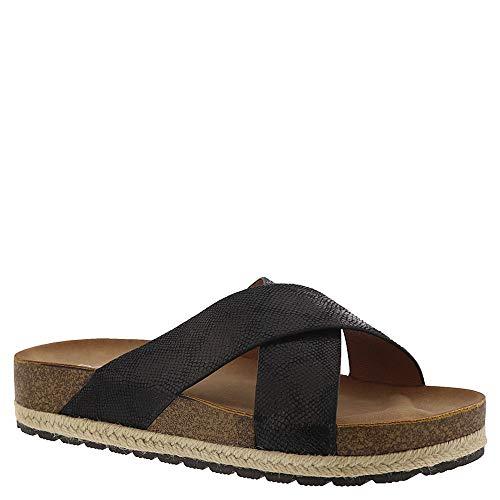 Black Lizard Footwear - Corkys Footwear Womens Ladies Lizard Slide Sandals 7 Black