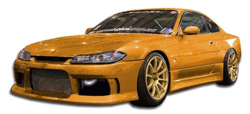 (Duraflex Replacement for 1995-1998 Nissan 240SX S14 Silvia S15 Conversion M-1 Sport Kit - 4 Piece)