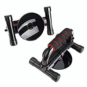 Push Up Push up Bars Grips Handles Stands Sit up Bars Grips Handles,HiHill 3 in 1Stands for Men and Women Work Out