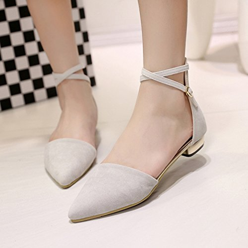 Video FONDO di sandali 38 piatto singolo satinato asolato fondo beige yalanshop PIATTO sandali scarpe femmina A Baotou sottile RXqxwqB