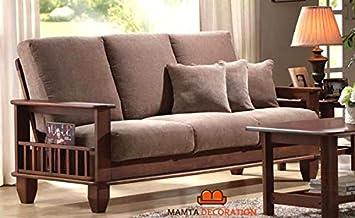 mamta decoration solid sheesham wood sofa set furniture for livingmamta decoration solid sheesham wood sofa set furniture for living room, 3 2