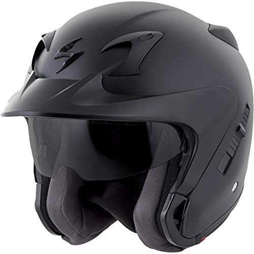 (Scorpion EXO-CT220 Street Motorcycle Helmet (Matte Black, X-Large))