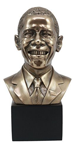 (Ebros First African American President Barack Obama Bust Statue 9