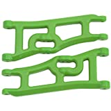 RPM Wide Front a-Arms for the Traxxas E-Rustler and Stampede 2WD Replacement Parts - Green