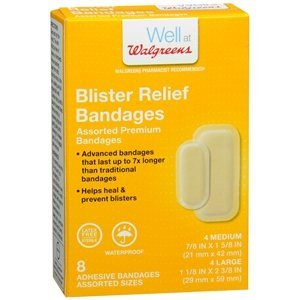 Walgreens Blister Relief Bandage Assortment, 8 - Blister Assortment