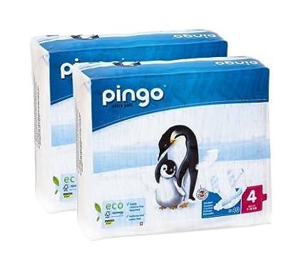 Pingo Pañales Ecológicos Talla 4 (7-18 Kg) 80 Unidades