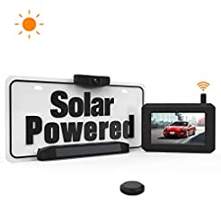 Solar Wireless Backup Camera with Stable...