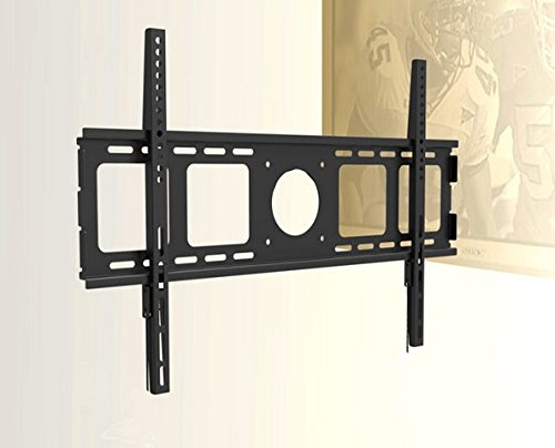 "Price comparison product image Universal SUPER SLIM 1"" Flat Wall Mount for Samsung LG LED TV 40"", 46"", 48"" 49"" 50"" 55"", 60"", 65"", 70"", 75"" with Dual Security String and Screw Lock"