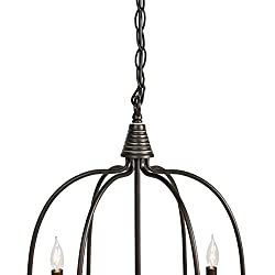 Best Choice Products 6-Light Home Ceiling Candle C