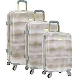 Vince Camuto 3 Piece Hardside Spinner Luggage Set, Chambray Gradient