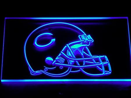 Chicago Bears Casco Neon LED Caracteres Publicidad Neon ...