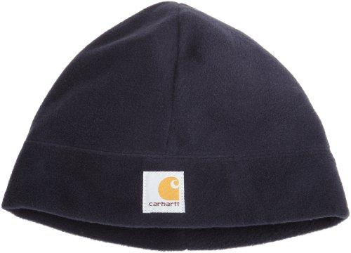 (Carhartt Men's Fleece Hat,Navy,One Size)