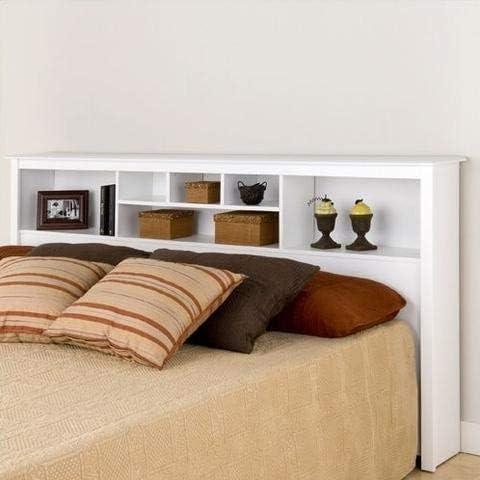 King Size Stylish Bookcase Headboard