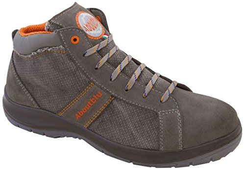 Aboutblu 1928809LA44 Houston Mid Sneaker Sicherheit, 44