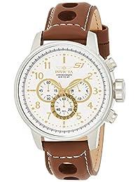 Reloj Invicta para Hombres 48mm, pulsera de Piel de Becerro