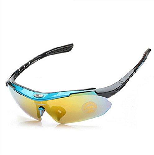 Pesca a Deportes Materiales al F de Libre Aire explosiones Viento Ciclismo Prueba Gafas Escalada PC vqw5YY