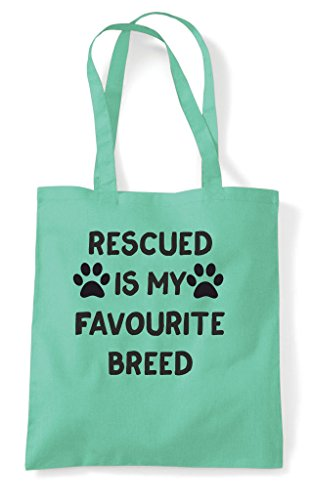 Cute My Mint Shelter Tote A Adopt Breed Pet Favourite Paws Bag Is Shopper Rescued 5zqnO