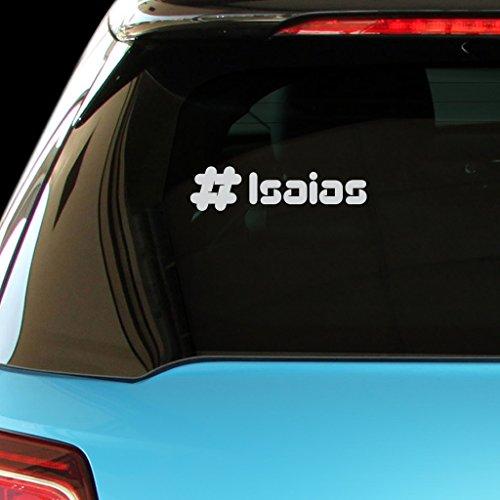 isaias-male-name-car-laptop-wall-sticker-matte-silver