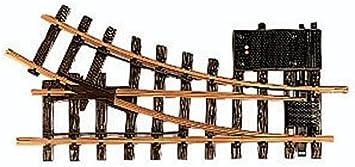 M/ärklin LGB 12050 Aguja de ra/íl el/éctrica hacia la Derecha, 30 Grados