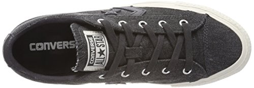 Converse Unisex Adults' Lifestyle Star Player Ox Cotton Fitness Shoes Black (Almost Black/Almost Black 049) clearance store online wMkqw