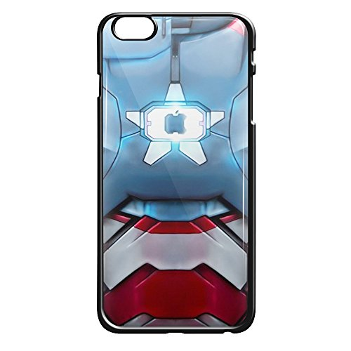 Iron Patriot body armor for iPhone 6/6s Black (Iron Man Costum)