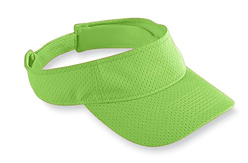 Augusta Sportswear Athletic Mesh Visor, Lime, One Size