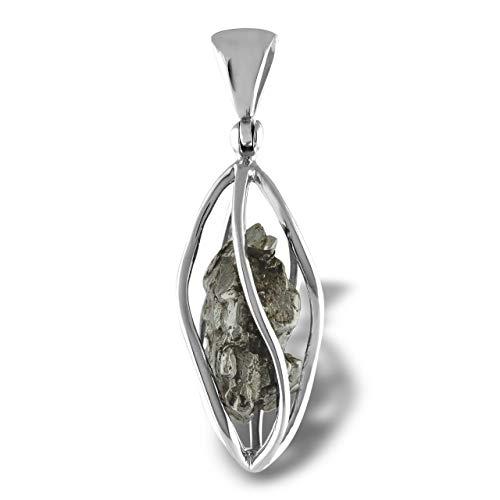 Starborn Campo Del Cielo Meteorite Sterling Silver Pendant