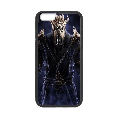 Dragonborn The Elder Scrolls V Skyrim 33 33 coque iPhone 6 4.7 Inch Housse téléphone Noir de couverture de cas coque EOKXLLNCD19322