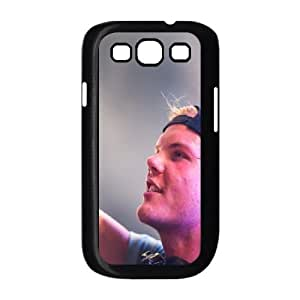 Samsung Galaxy S3 9300 Cell Phone Case Black avicii dj hd background 1080p backgrounds avicii dj dj 26336 M2349590