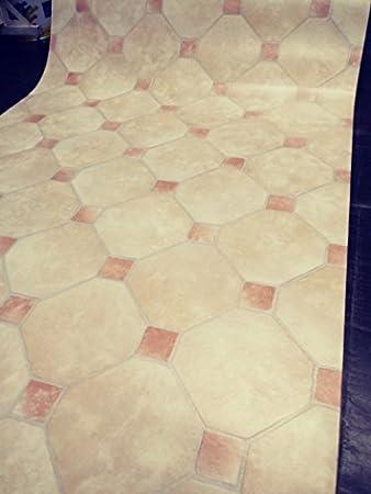 Amazon De Linoleum Aus Pvc Kunststoff Fur Badezimmer Kuche Balkon