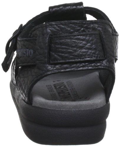 Mephisto SAM MAMOUTH 714 BLACK P1400308 - Sandalias de cuero para hombre Black
