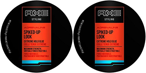 AXE Styling Adrenaline Spiked-Up Look Extreme Hold Glue, 2.64 Ounce (Pack of (Axe De Glue)