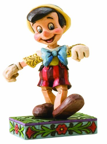 Enesco Disney Traditions by Jim Shore 4010027 Pinocchio Personality Pose Figurine 4-1/2-Inch