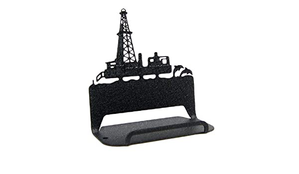 Amazon com: Offshore Oil Rig Business Card Holder: Home