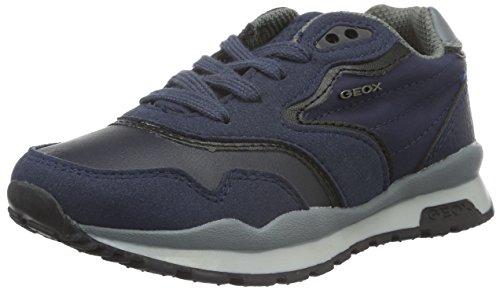 Geox J Pavel C, Zapatillas Para Niños Blau (NAVY/GREYC0661)