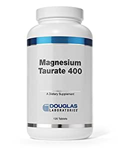 Douglas Laboratories® - Magnesium Taurate 400 - Supports Normal Heart Function and Bone formation* - 120 Tablets